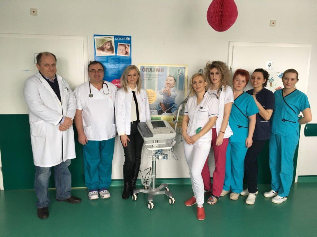 Rotary klub uručio EKG uređaj Pedijatrijskom odjelu
