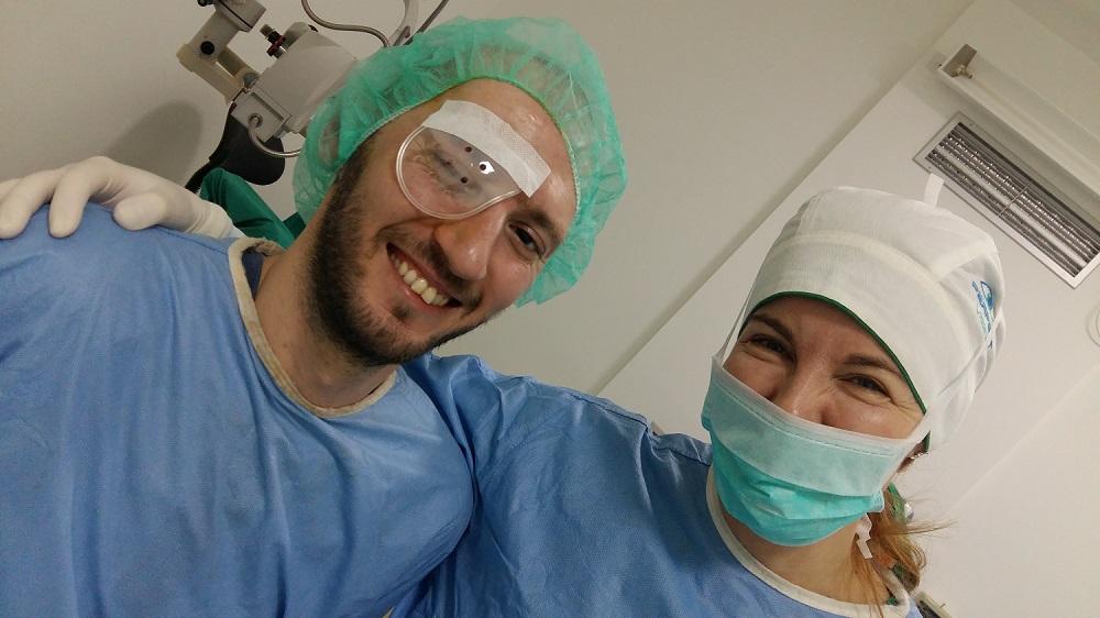 Operacija oka je jedna od najbolja odluka koju sam mogao doneti!
