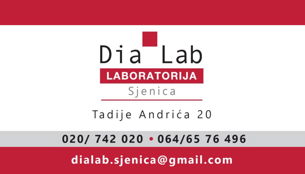 NOVO – Dia Lab Laboratorija u Sjenici!