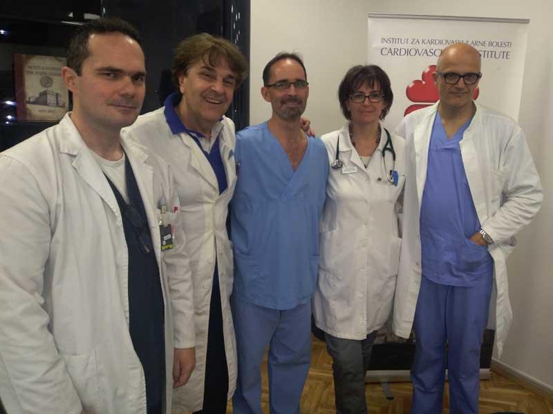 Prvi put u regionu Zapadnog Balkana: krio-ablacija za pacijente sa visokim rizikom