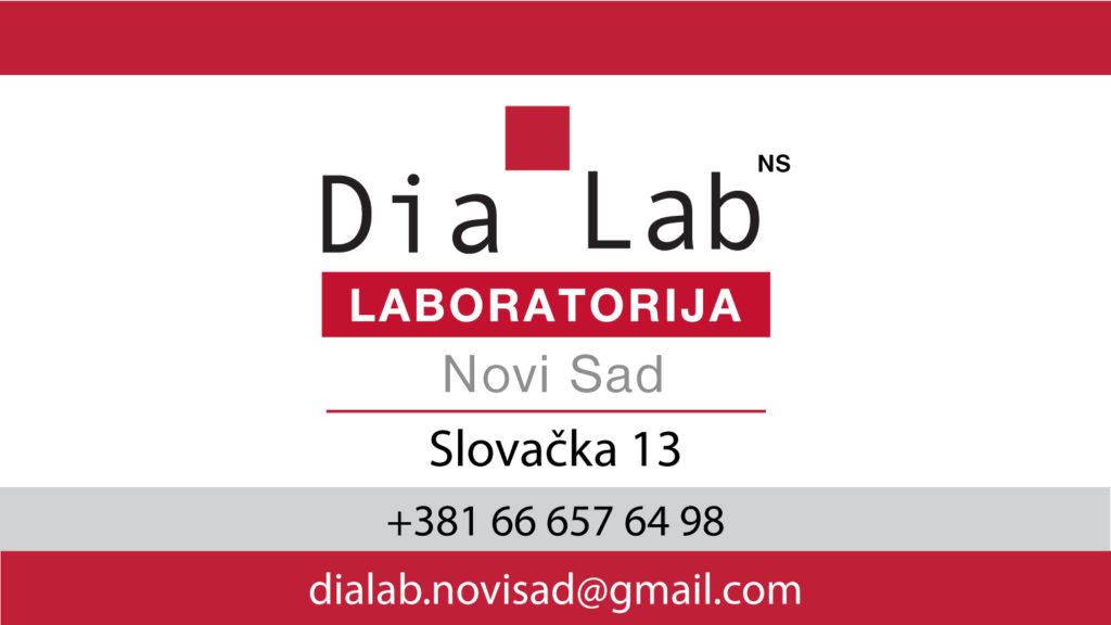 NOVO – Dia Lab Laboratorija u Novom Sadu!