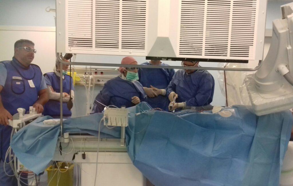 Прво пласирање стента у ангио сали Опште болнице Сомбор
