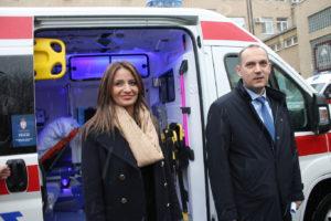 Ново санитетско возило са комплетном медицинском опремом у Општој болници Сомбор