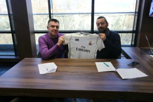 """НЕУРОМЕДИКА – официјален партнер и медицинско обезбедување на фудбалскиот камп на Фондацијата """"Реал Мадрид"""" во Македонија!"""