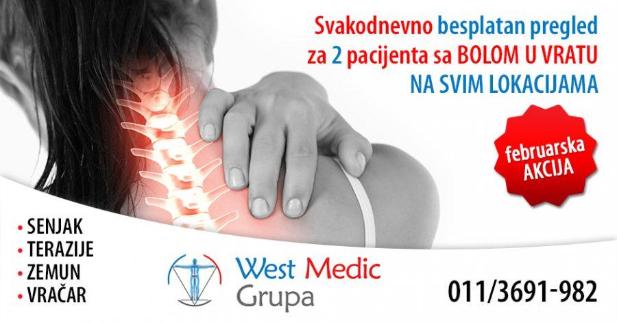 Februarska akcija za osobe sa bolom u vratu