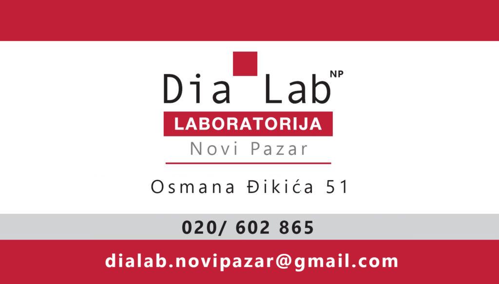 NOVO – Dia Lab Laboratorija u Novom Pazaru!