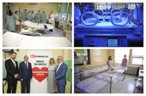"""""""Blic fondacija"""" obnovila deo porodilišta u Opštoj bolnici Vršac"""