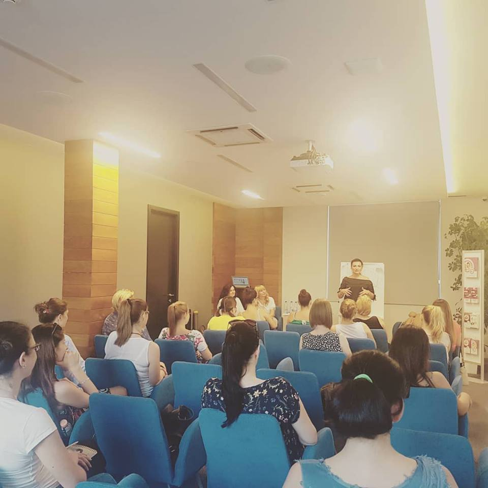 U Bebac startap centru, 9. avgusta 2018., dr Mirjana Anđelić održala predavanje – Trudnoća i porođaj najsrećniji događaj