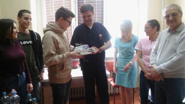 Донација матураната сомборске гимназије