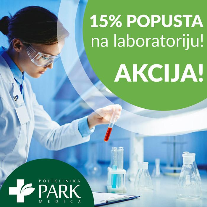 15% popusta na laboratoriju!
