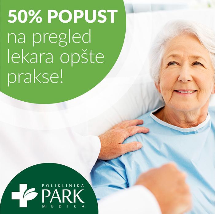 Penzionerima 50% popusta na pregled