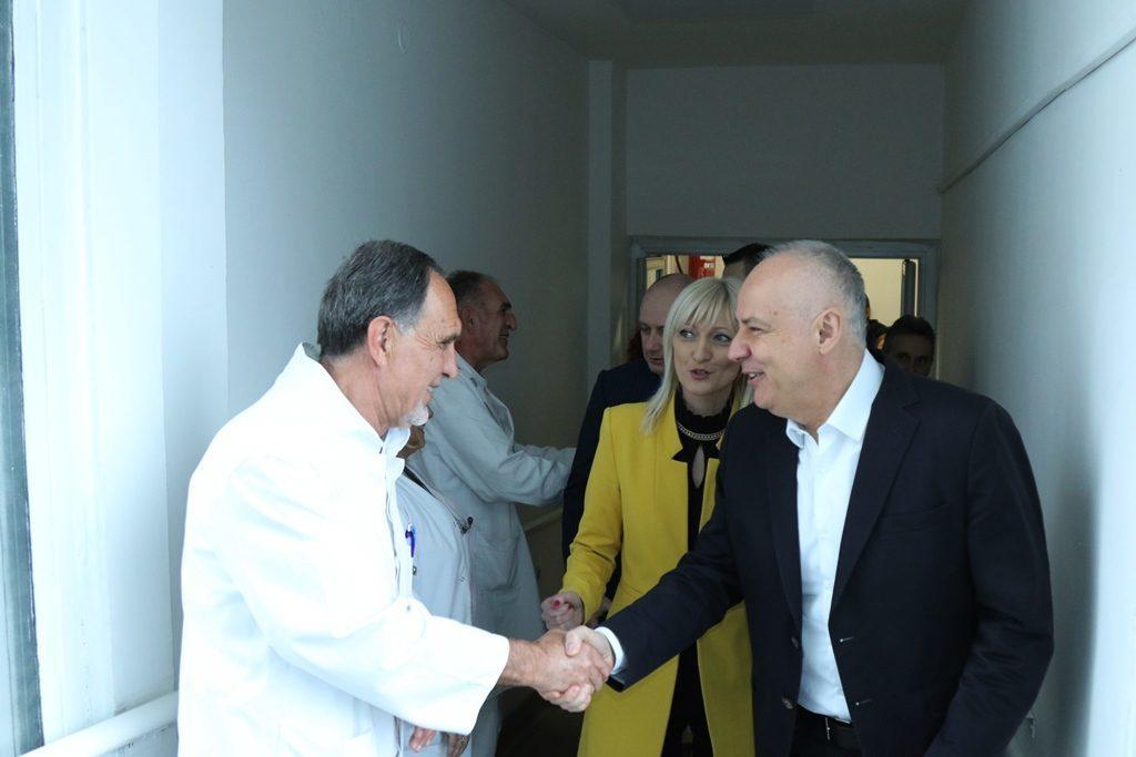 Градоначелник Радојичић: Здравство на Вождовцу одличан пример за остале општине