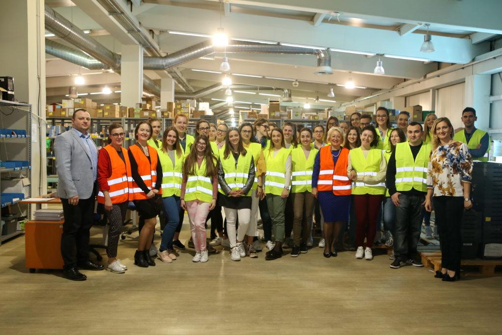 Studenti farmacije obišli poslovni centar Novi Sad